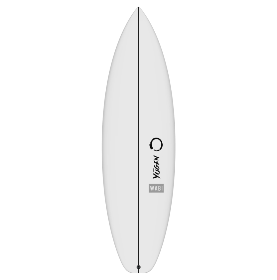 Wabi Shortboard Front View